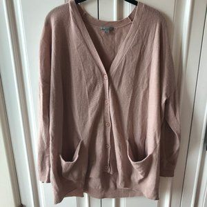 COS Dusty Pink Wool Cardigan